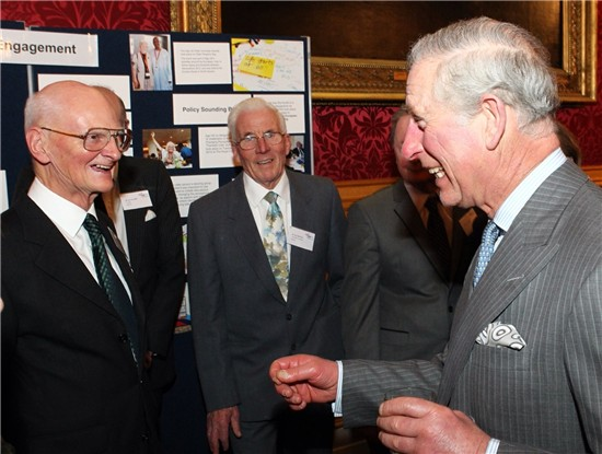 Tom Harrison and Prince Charles