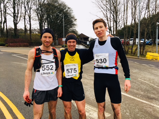Llanbedr to Blaenavon 2018 First three runners to finish