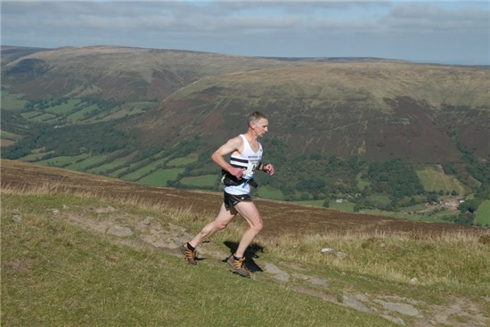 Mark Palmer in the Black Mountains Race