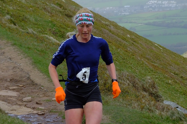 A female fell runner
